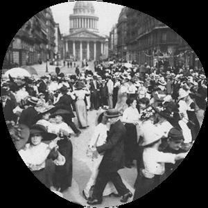 geschiedenis van de tango