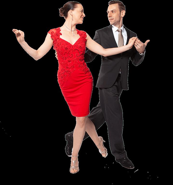 tango koppel achterwaartse sacada