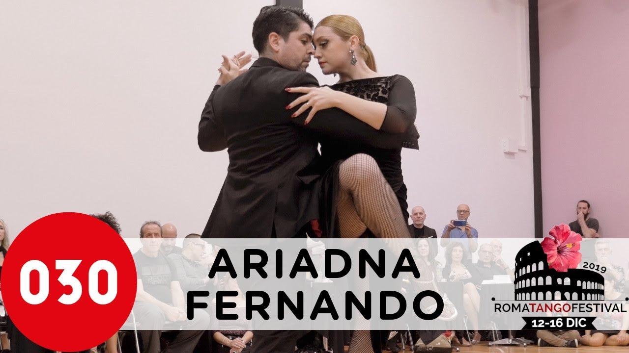 ariadna Naveira fernando sanchez Tangoshow
