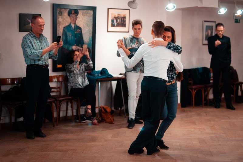 cours de danse tango argentin