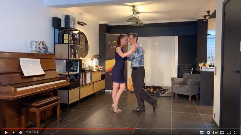 La class4 des cours de tango en ligne