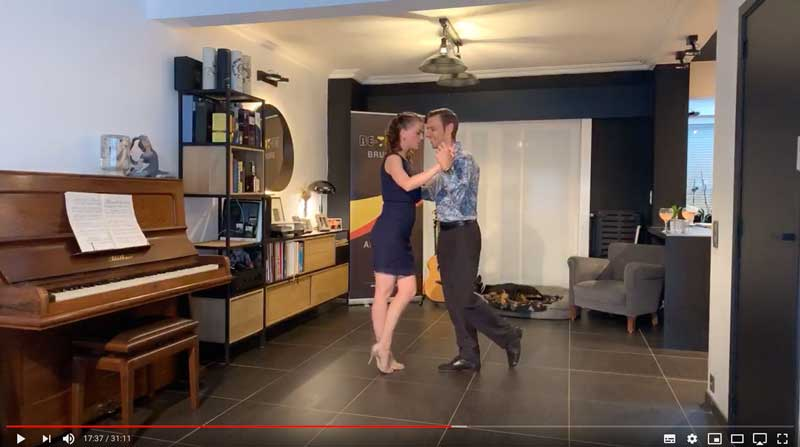 online tango classes beginners class4