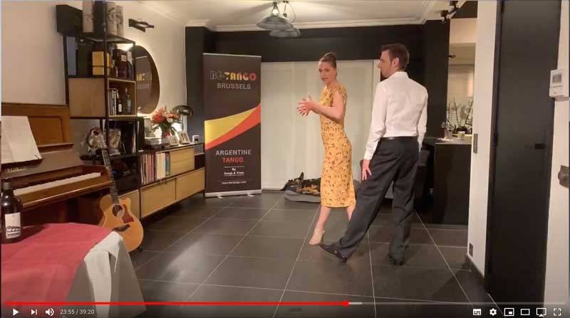 online tango lesson firstyears class1