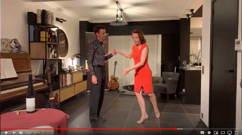 online tango lesson firstyears class2