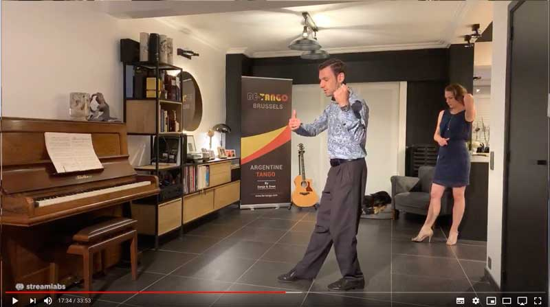 online tango lesson firstyears class4