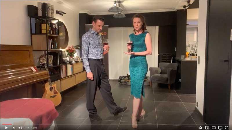 leçon de tango en ligne intermédiaire avancé Class1