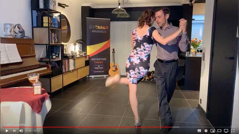 online tango lesson secondyears class3