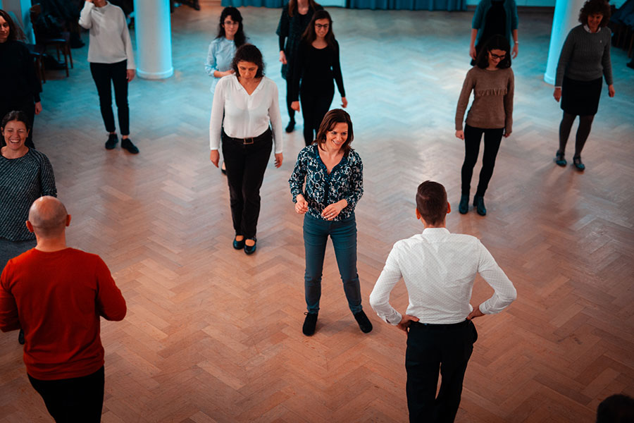 tango classes brussels top view