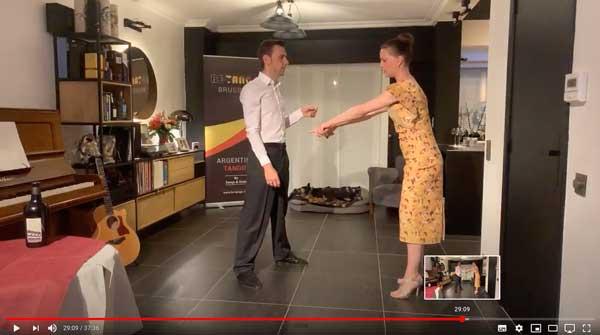 Cours de tango débutants en ligne 2