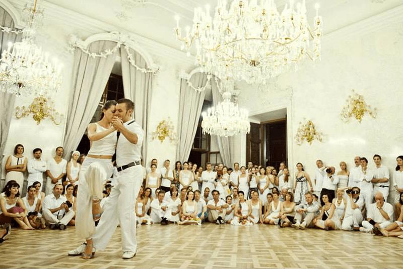 spectacle de tango Alchimie prague