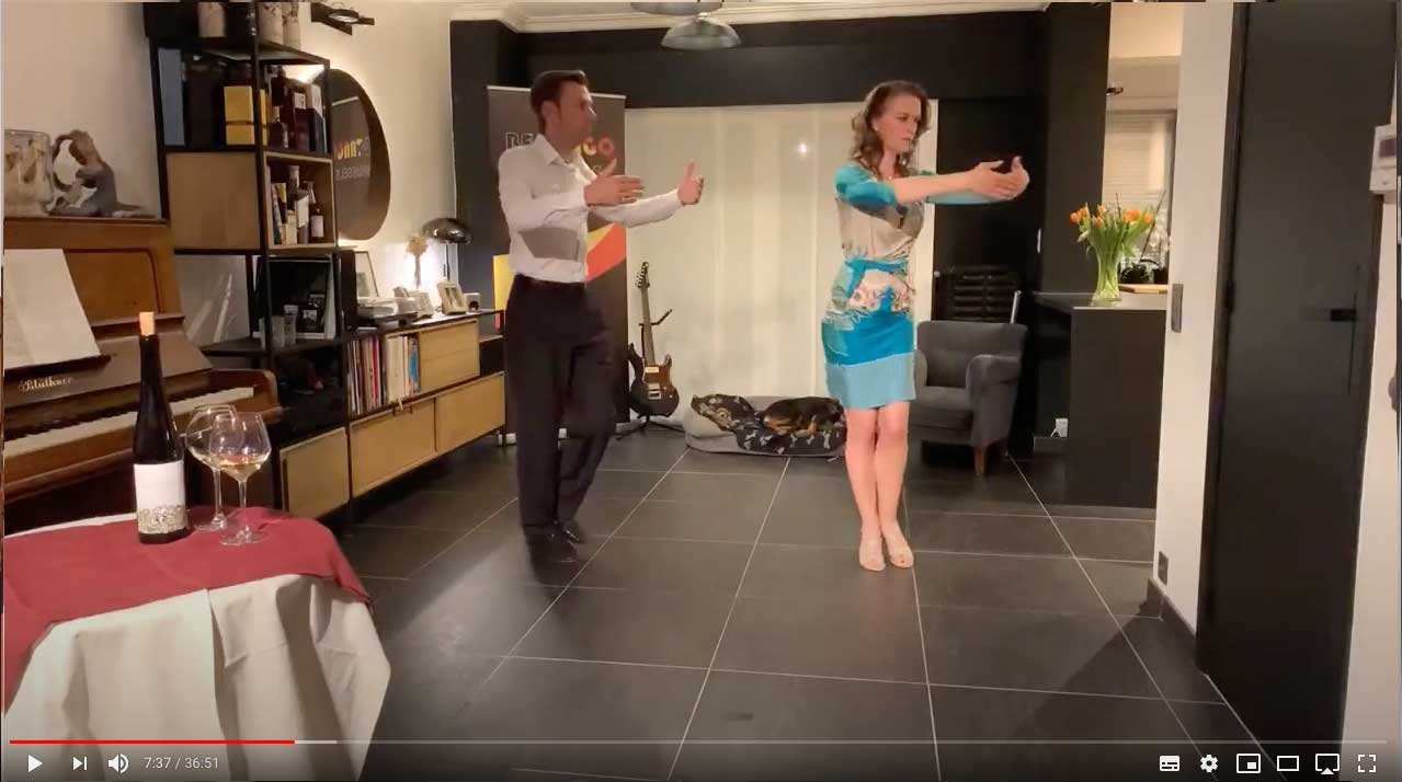 tango techniek les pivot 2