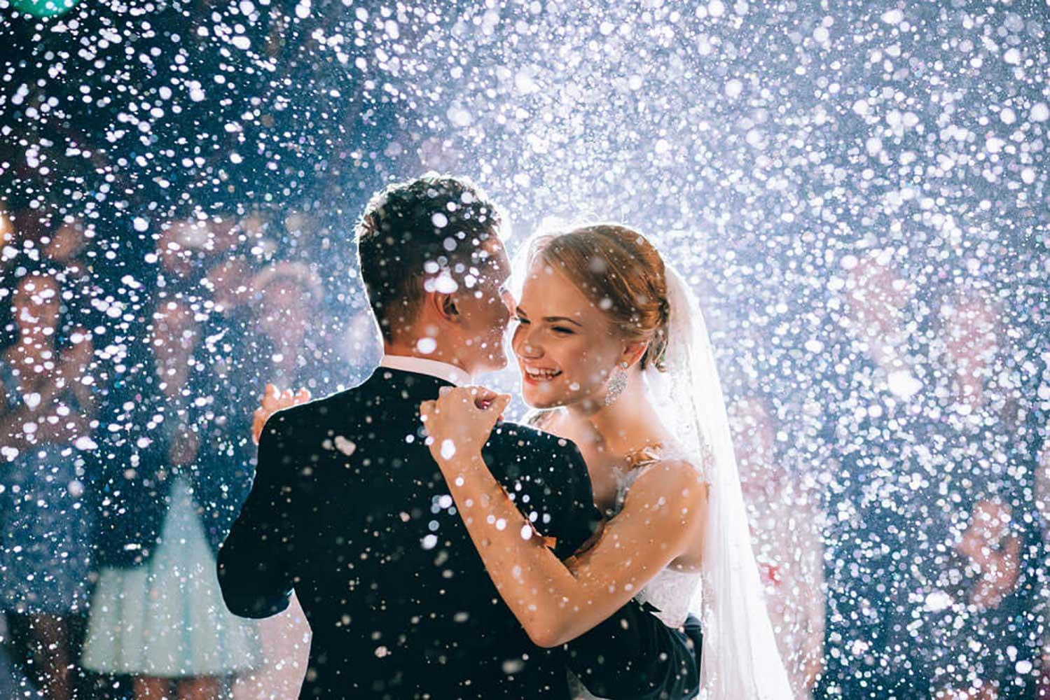 Danse d'ouverture de bal mariage
