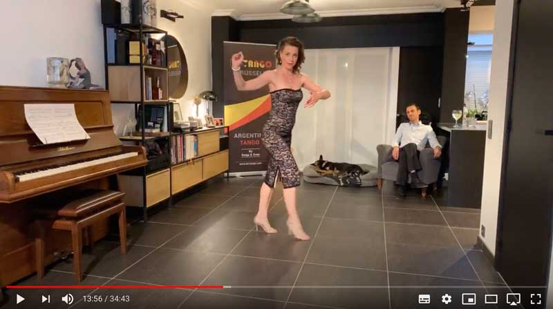 cours de tango en ligne pour avancés