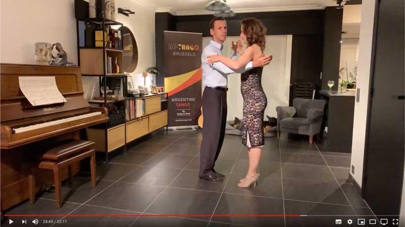 cours de tango en ligne pour deuxième année