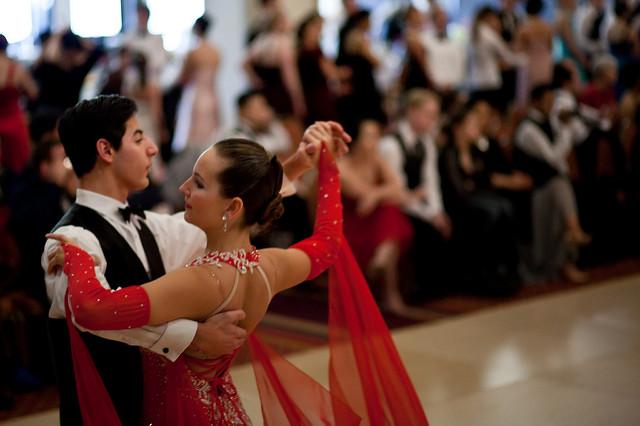 ballroom posture